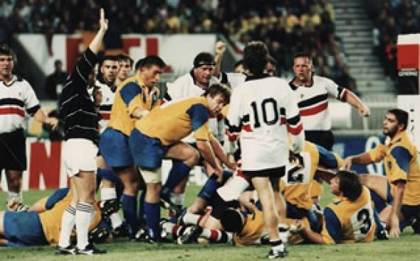 Stade-Clermont, le 28 mai 1994